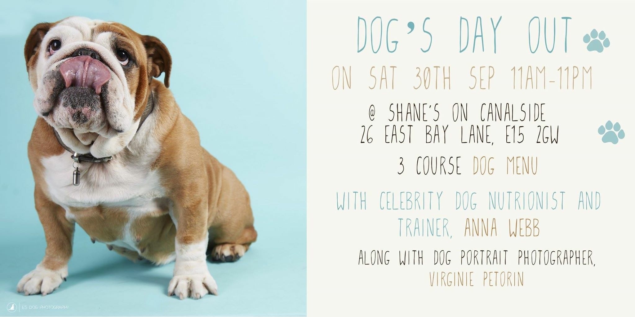 Dog's Day out SAT 30 SEP London
