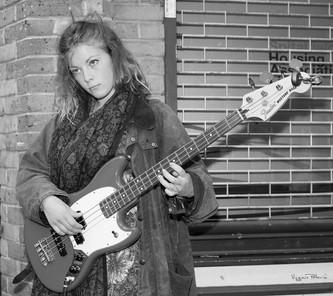 La guitariste de Brick Lane