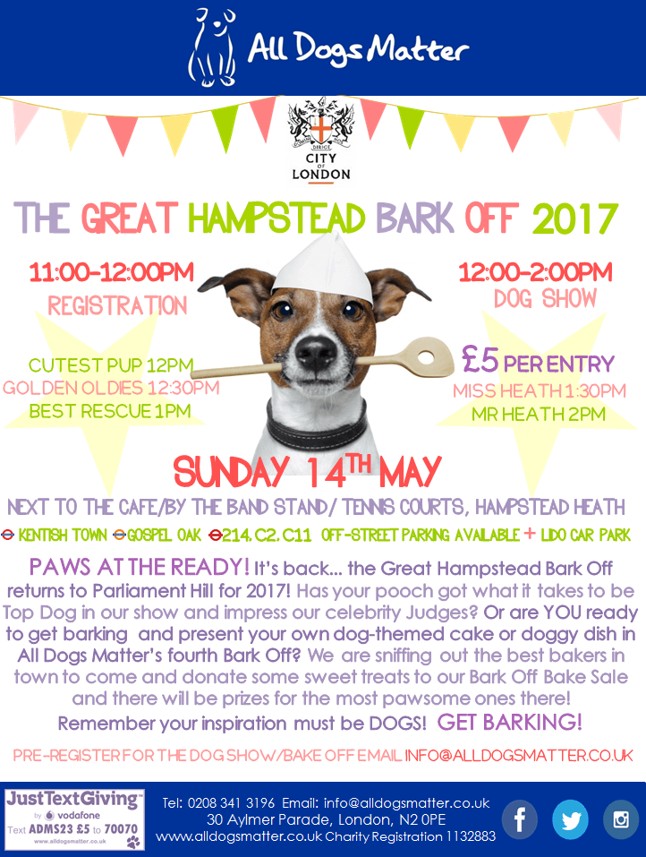 The Great Hampstead Bark Off 2017