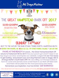 The Great Hampstead Bark Off 2017