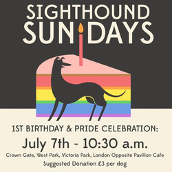 Sighthound Sundays 7th July 2019