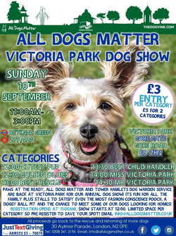 All Dogs Matter Victoria Park 2017