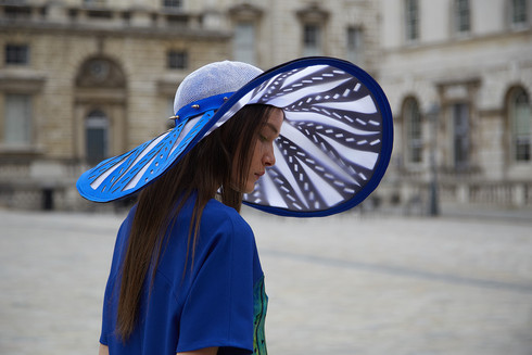 The blue hat part one