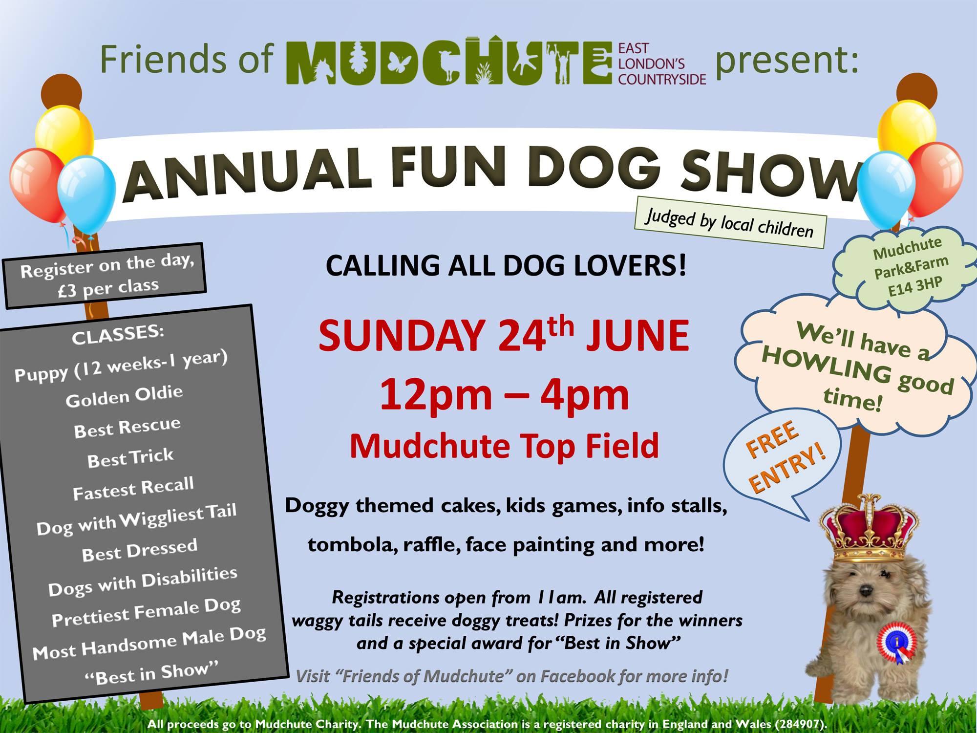 Mudchute Dog Show 2018