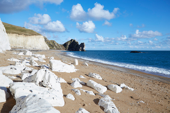 Durdle Door on the moon