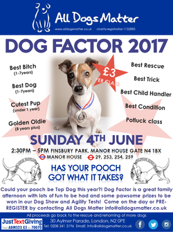 Dog Factor 2017 by All Dogs Matter