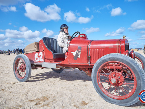 "Ford T Model ""Sausage Box"" from the Normandy Beach Race 2020"
