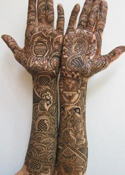 Intricate Bridal Pattern