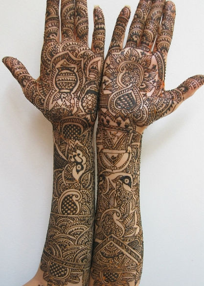 Intricate Bridal Mehendi