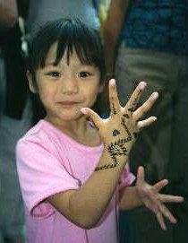 Children Henna Design
