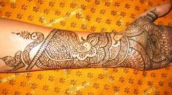 Elegant Bridal Henna