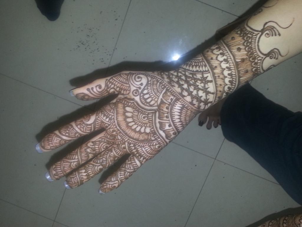 Traditional Bridal Henna