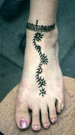 Henna Traditional Anklet