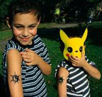 Ying Yang Children Tattoo