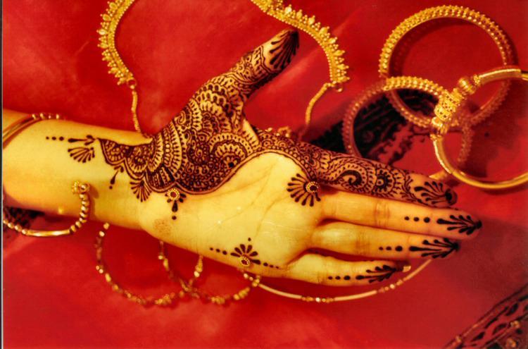 Simple Bridal Henna