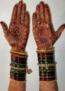 Bridal Henna Colour