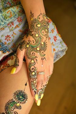 Modern Bridal Henna