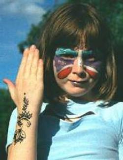 Henna Kids Hand Design