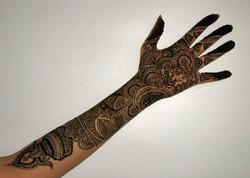Intricate Bridal Henna