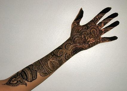 Intricate Indian Bridal Henna