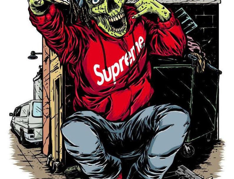HYPEBEAST GANG ZOMBIE by Marcos Cabrera