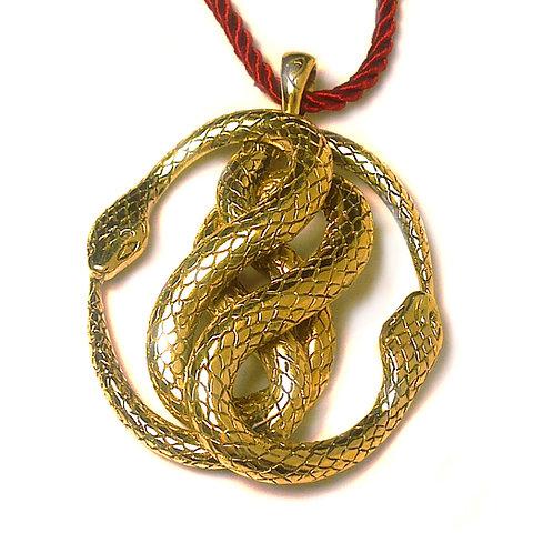 Ciondolo Serpenti intrecciati