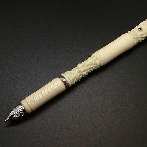 Penna avoriolina e argento
