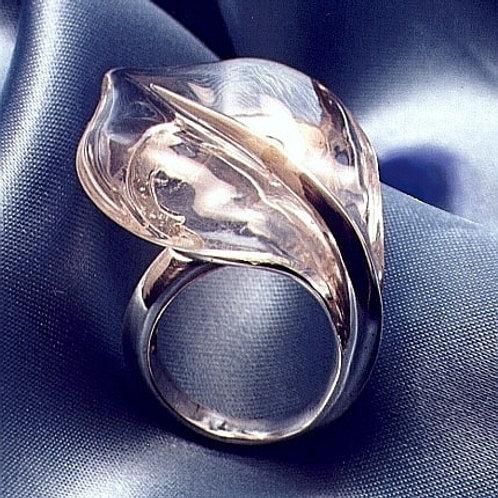 Anello Foglia Plexiglass