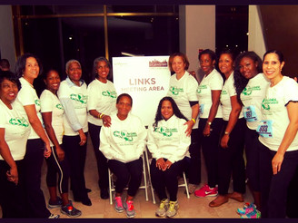 Greater New York Chapter, The Links, Inc. Supports  In-Motion Story-By-Story Stairclimb To Help Vict