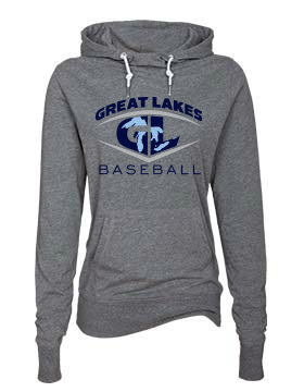 Great Lakes Baseball Women's Funnel Neck Hoodie