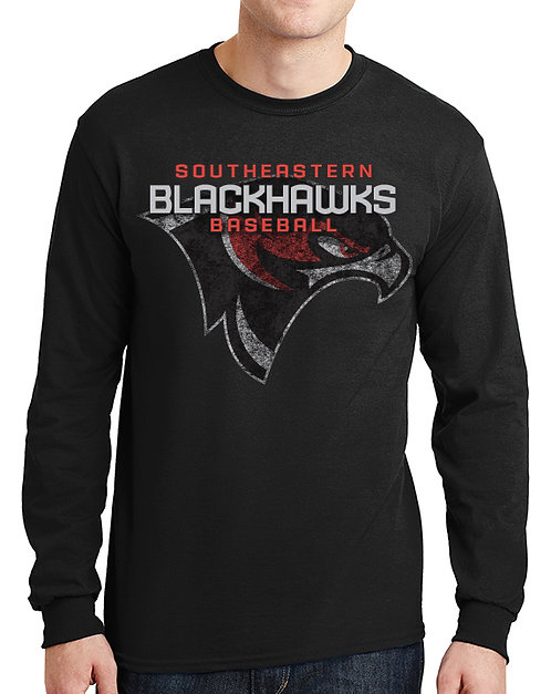 Southeastern CC Baseball Youth L/S T-Shirt