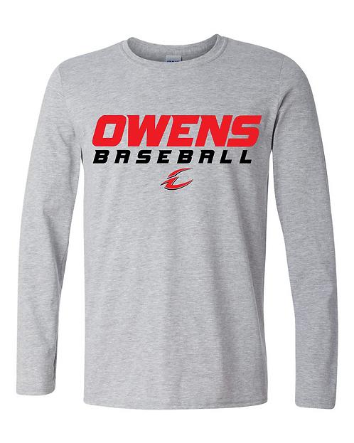 Owens Baseball Ring-Spun Cotton Long Sleeve