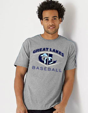 Great Lakes Baseball Triblend T-Shirt