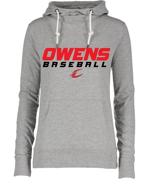 Owens Baseball Women's Lightweight Funnel Neck