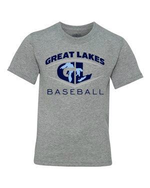 Great Lakes Baseball Youth T-Shirt