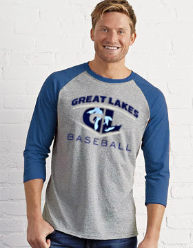Great Lakes Baseball 3/4-Sleeve