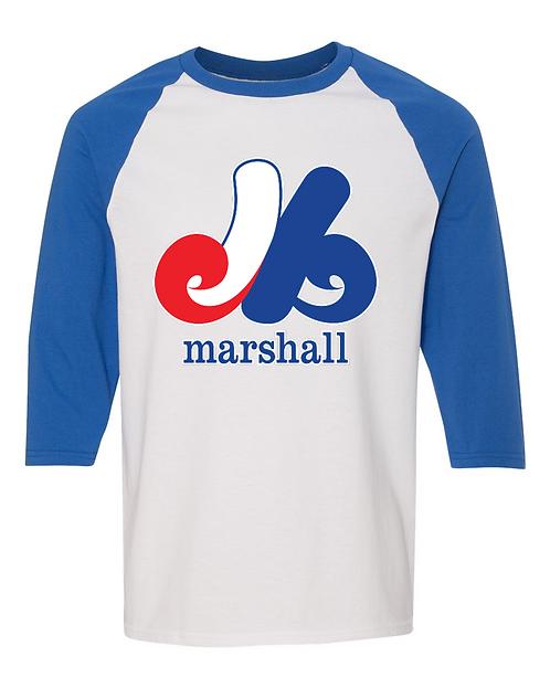Marshall 3/4 Sleeve T-Shirt