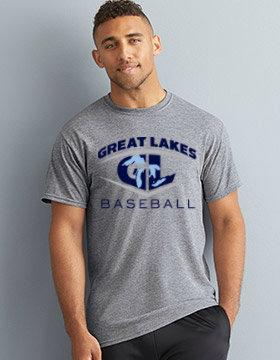 Great Lakes Baseball Performance T-Shirt