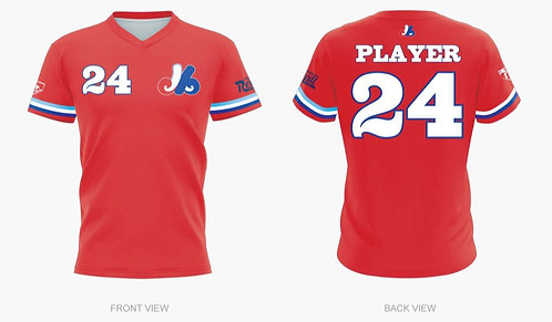 Expos Red Jersey