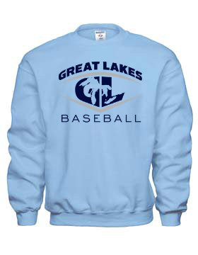Great Lakes Baseball Crewneck Sweatshirt