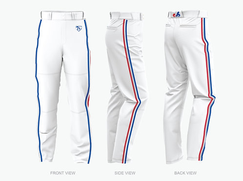 Expos White Uniform Pants