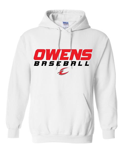 Owens Baseball Heavy Blend Hoodie