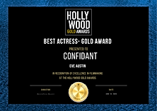 Copy of Hollywood Gold Awards Certificat