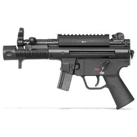 "HK 750900A5 HK SP5K 9MM 4.53"" BLK PIC RAIL 2 10RD ver ""BC"""