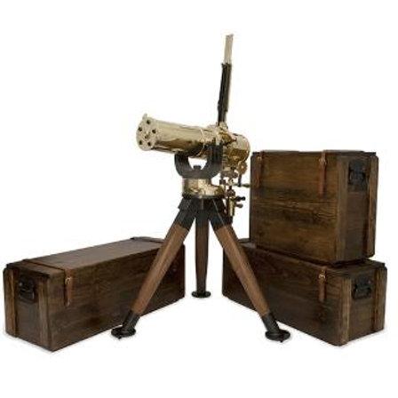 CLT GATLING GUN 1877 HS BULLDOG 10 BARREL TRIPOD