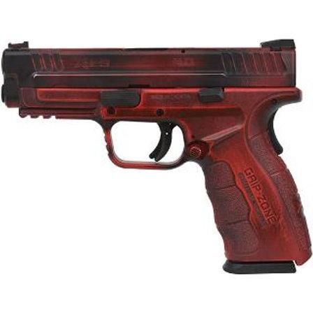 "SPR XDG 9MM 4"" BLK MOD2 BATTLEWORN RED BLK"
