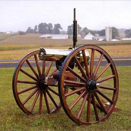 COLT GATLING GUN 1877 HS BULLDOG 10 BBL CARRIAGE