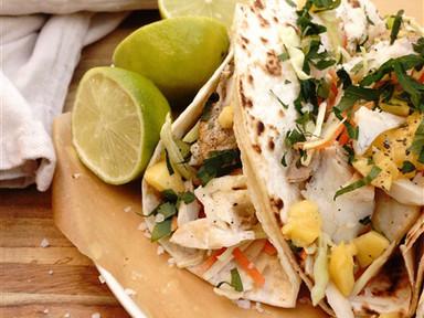 Fish Tacos   RECIPE IN PORTUGUESE