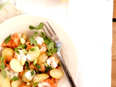 Nordic Salmon and Potato Salad | RECIPE