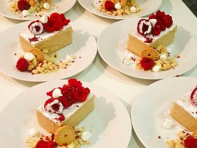 Stout Slice with Raspberries | RECIPE